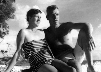 Lee Marvin and Betty Marvin