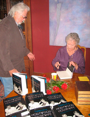 Betty at a book signing